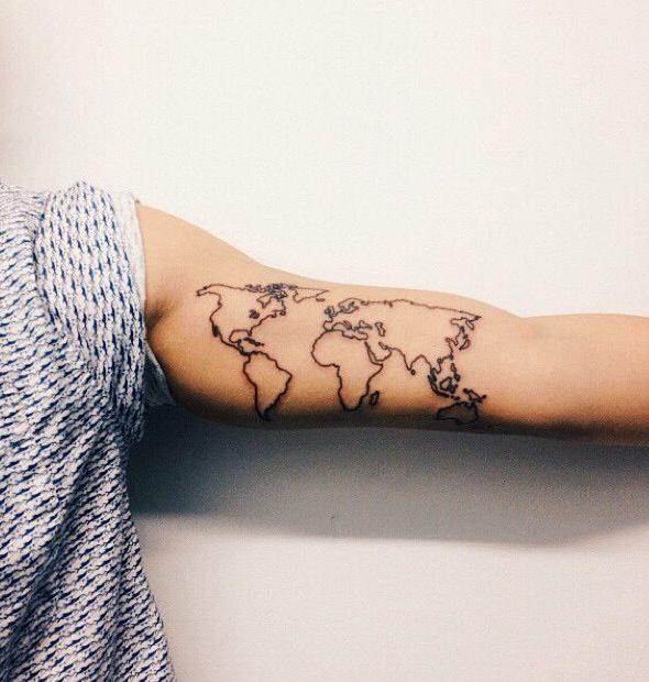 Tatuaże Podróżnicze Inspiracje Travelover
