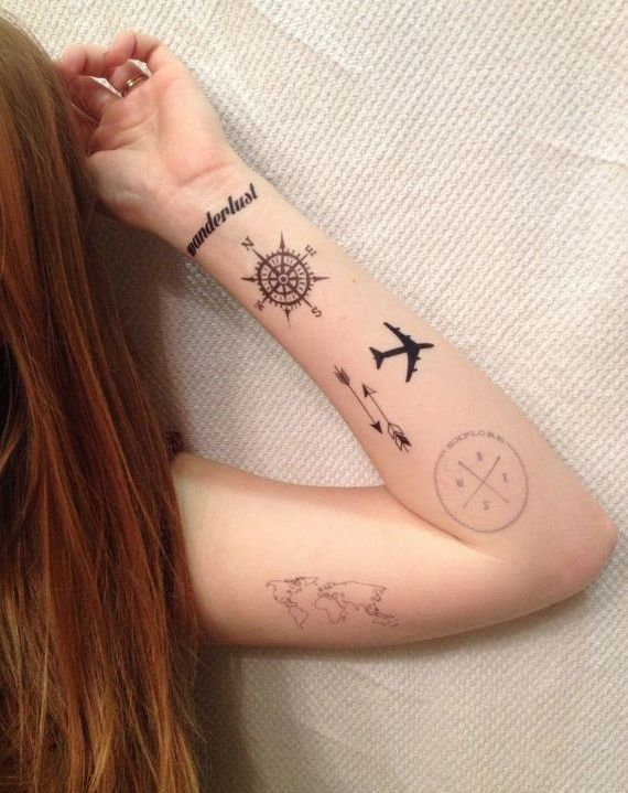 Tatuaze Podroznicze Inspiracje Travelover