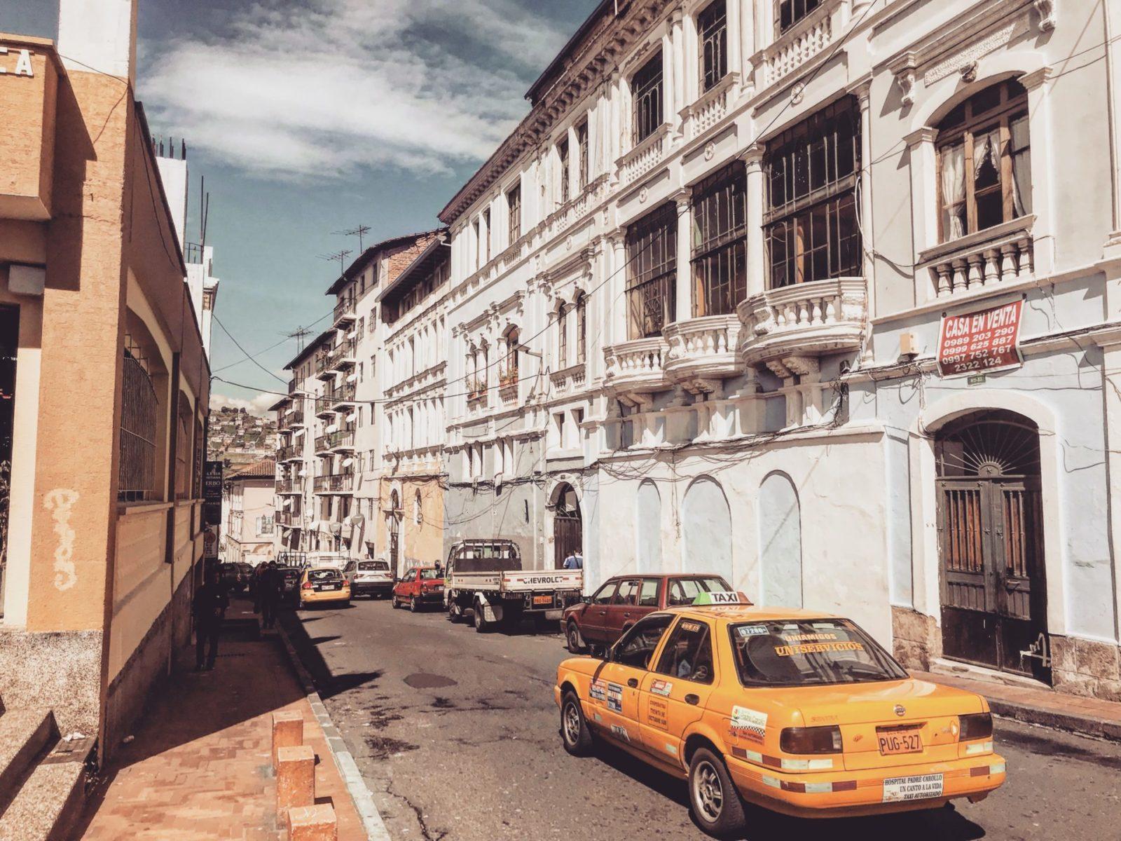 kolonialne Quito