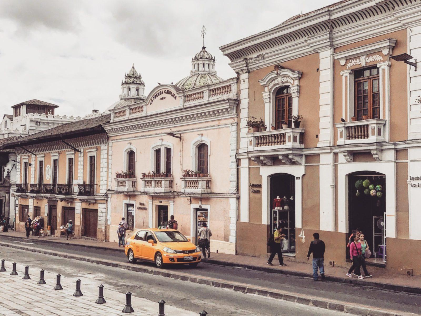 bezpieczeństwo w Ekwadorze