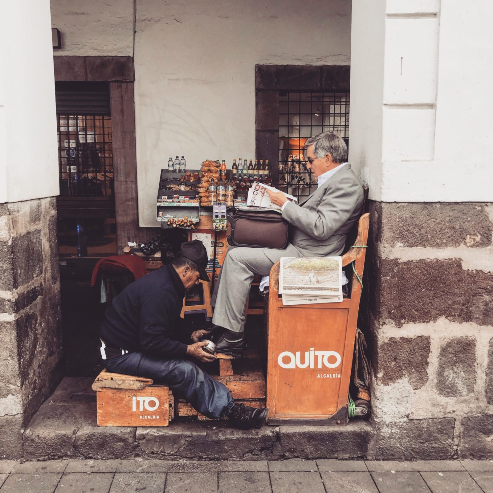 Quito codzienne życie