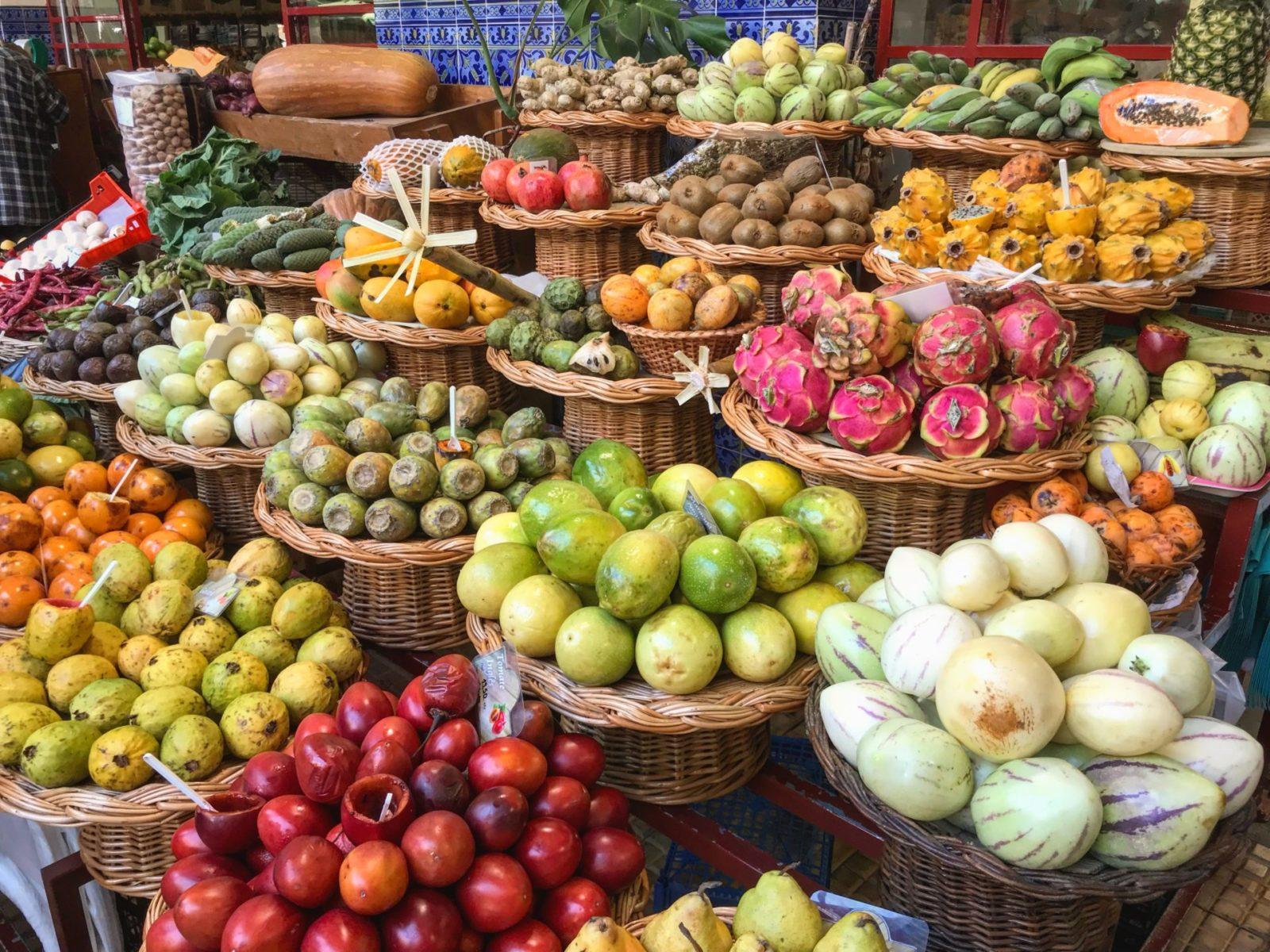 market na Maderze