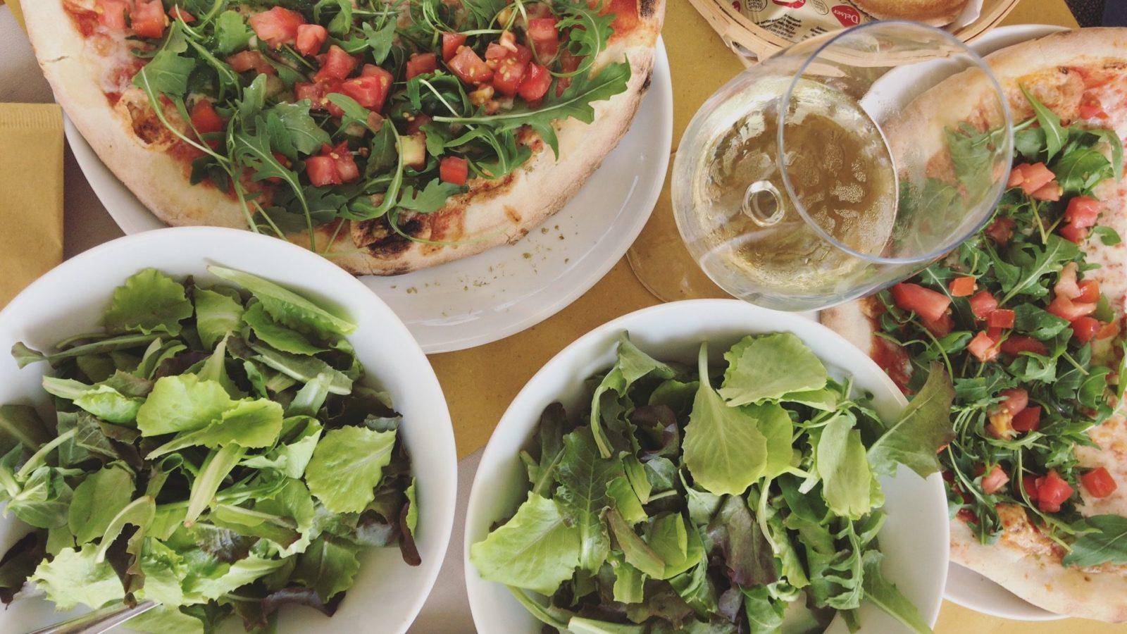Włoskie jedzenie