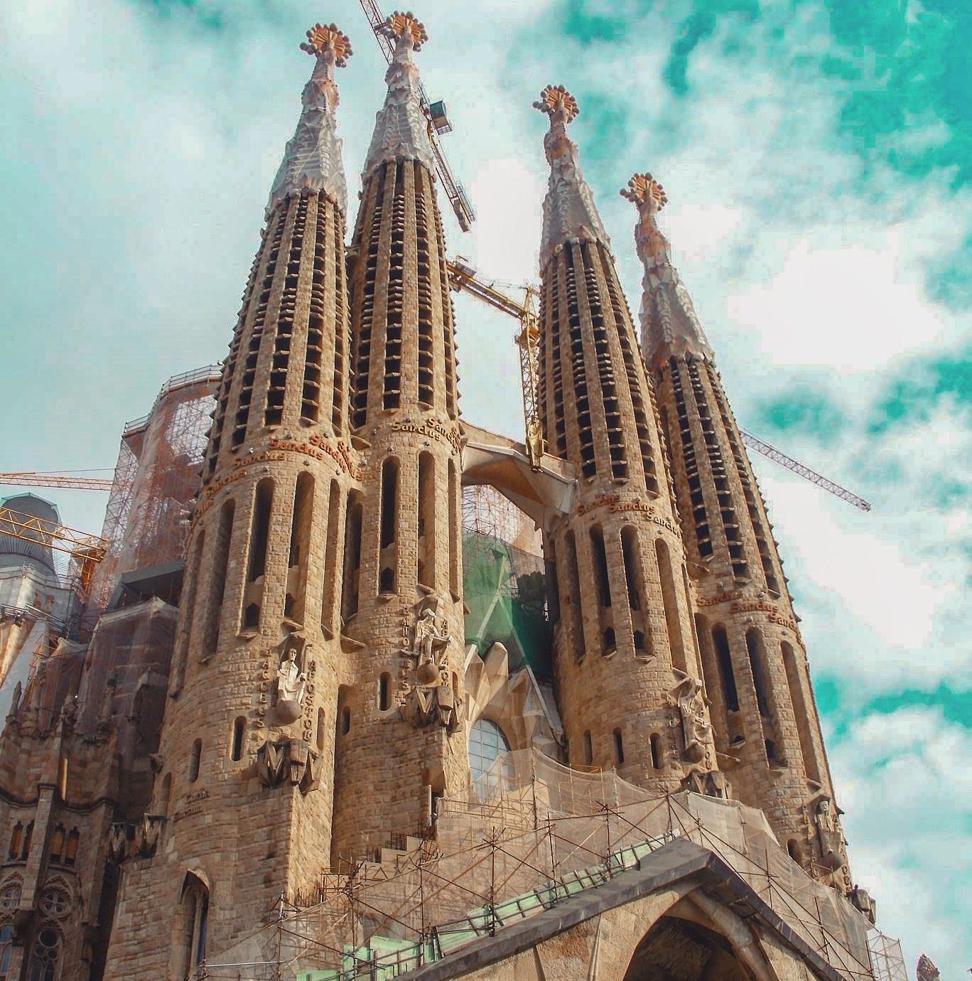 Barcelona zabytki