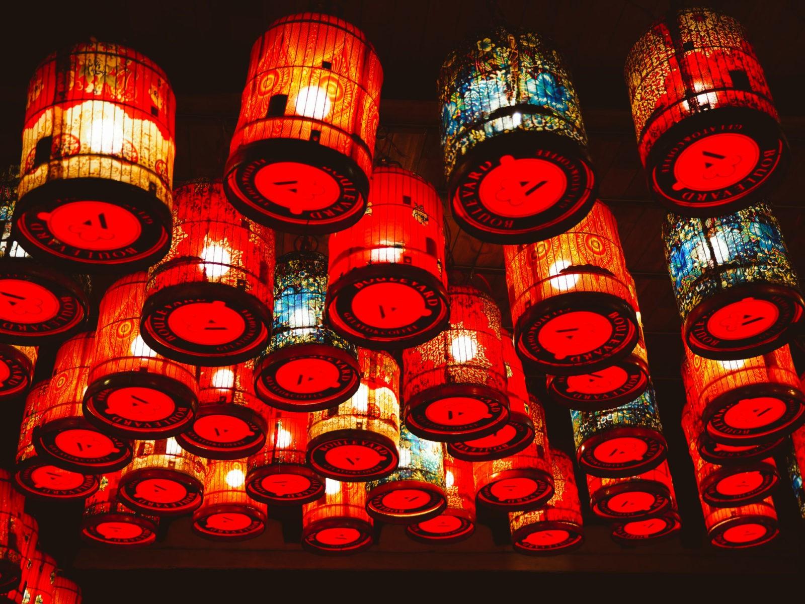 lampiony Wietnam