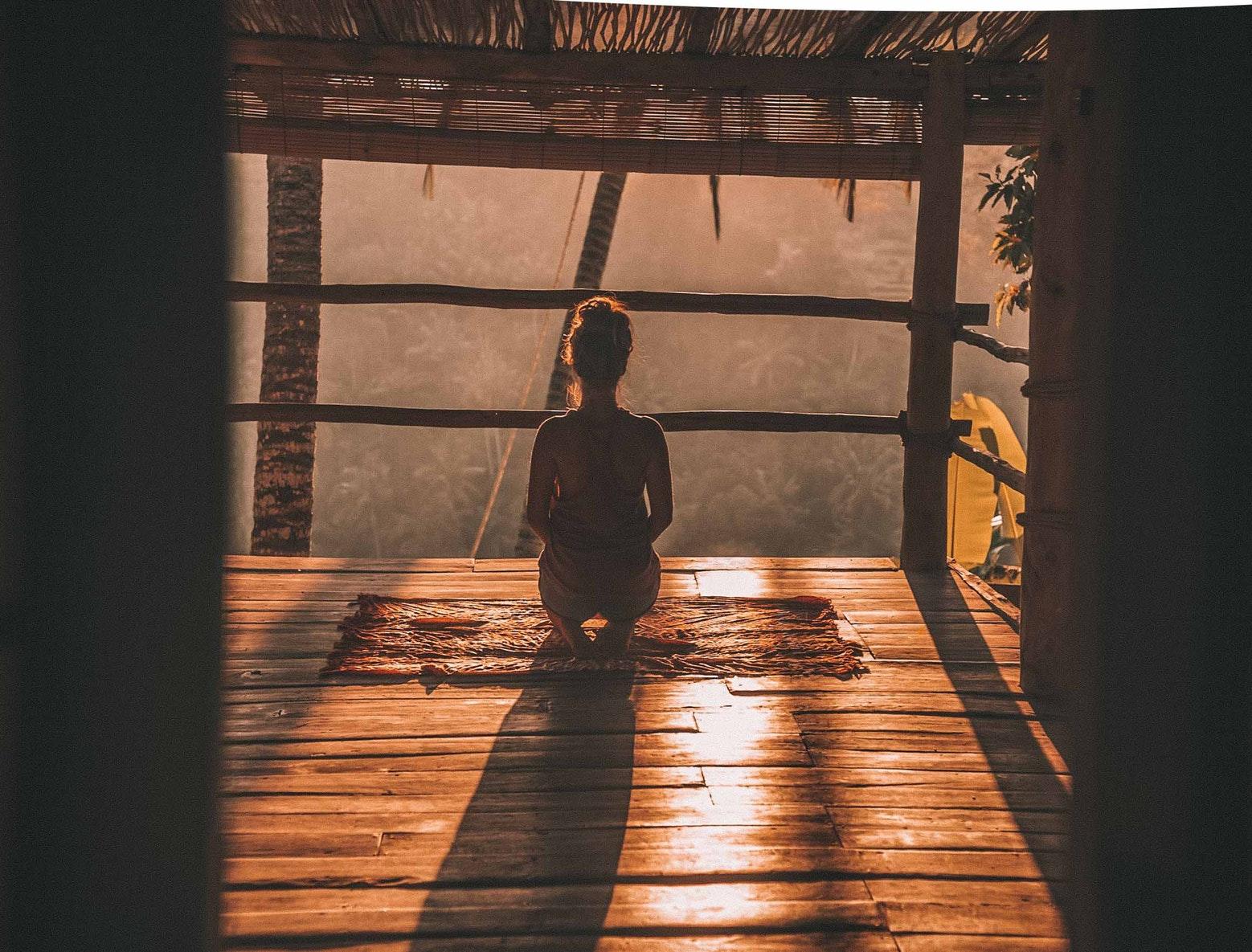 Joga i medytacja na Bali
