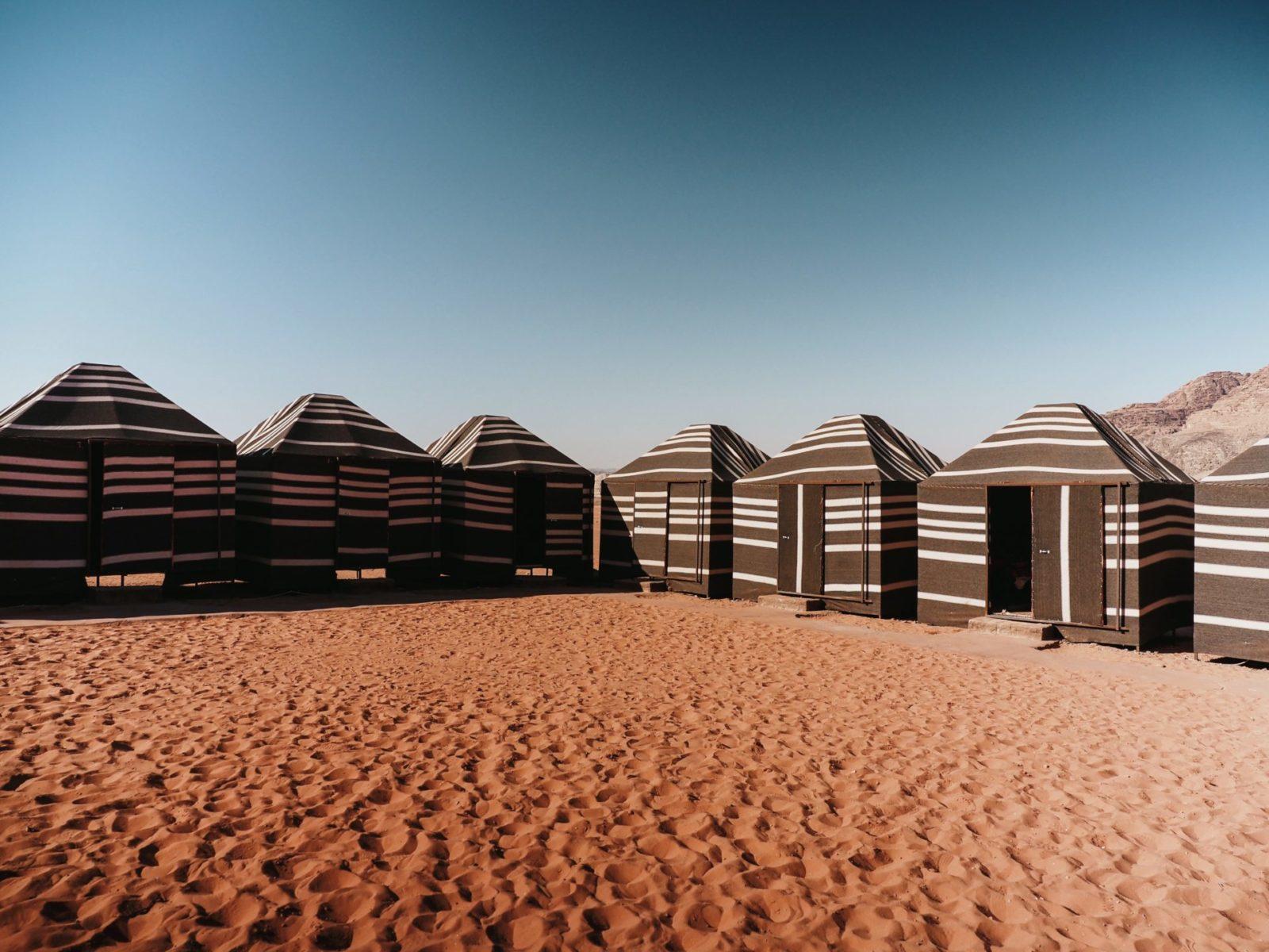 nasz obóz na Wadi Rum