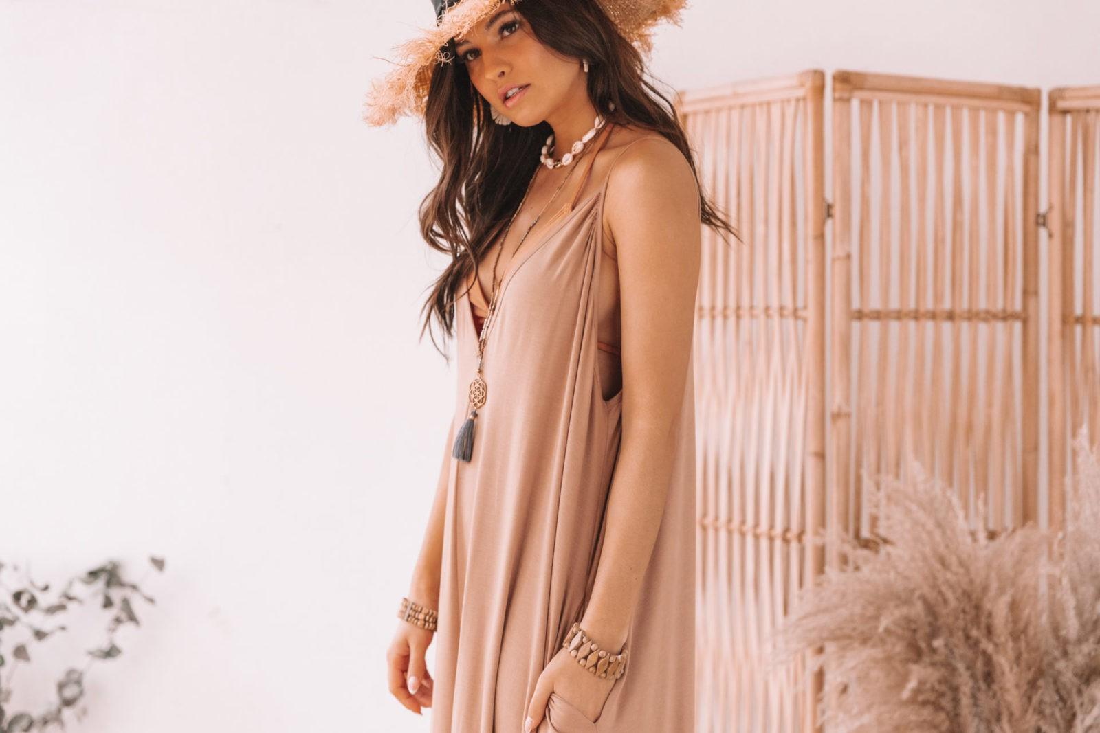 sukienka z bambusa